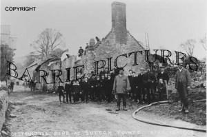 Sutton Pointz, Fire April 18th 1908