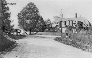 Tarrant Hinton, Crossroads c1900