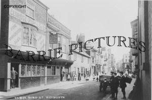 Weymouth, Lower Bond Street c1920