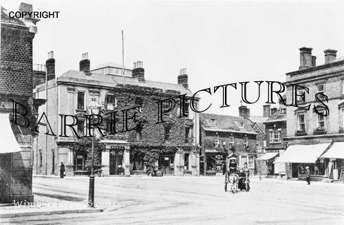 Wimborne, The Square c1910