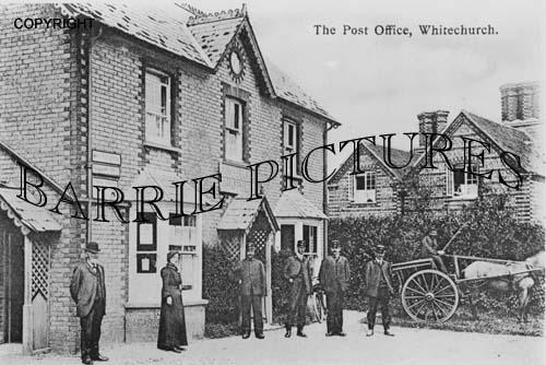 Winterborne Whitechurch, Village Post Office c1900