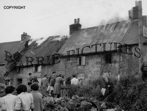 Shaftesbury, St James Fire c19