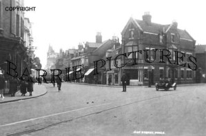 Poole, High Street c1930