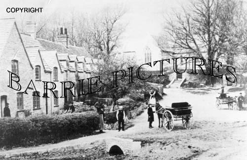 Tyneham, Village c1890