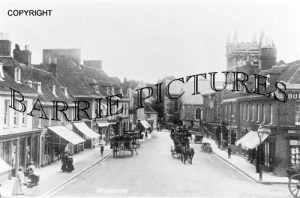 Wimborne, High Street c1905