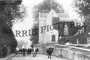 Wareham, St Martin's Church c1910