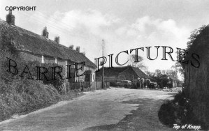East Knighton, Top of Knapp c1930