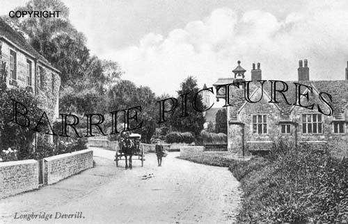 Longbridge Deverill, Village c1900