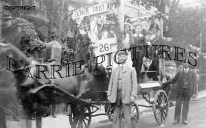 Wareham, Carnival 14th June 1913