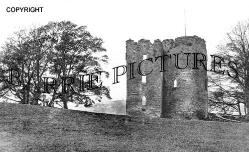 Crickhowell, The Castle c1910