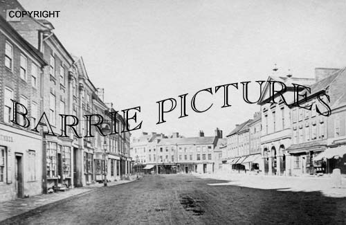 Blandford, High Street c1890