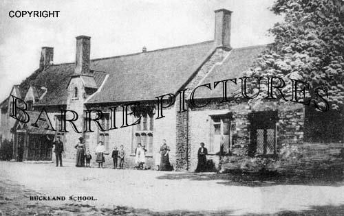 Buckland St Mary, The School c1890