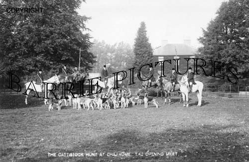 Chilfrome, The Cattistock Hunt c1920
