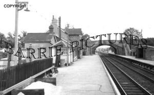 Dinton, Station c1965