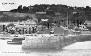 Lyme Regis, from the Cobb c1930