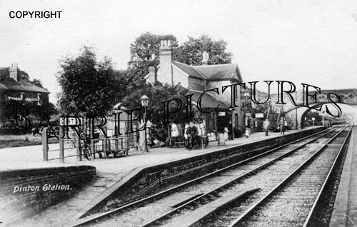 Dinton, The Station c1910
