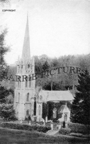 Teffont, Church c1910