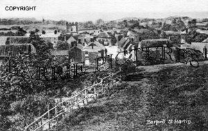 Barford St Martin, Village c1890