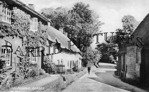 Tolpuddle, Village c1920