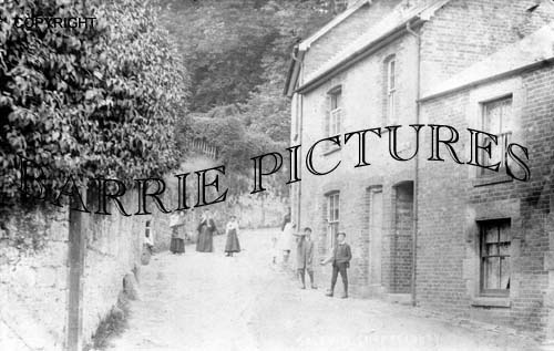 Shaftesbury, Gold Hill c1890