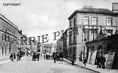 Warminster, Market Place c1890