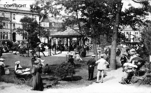Boscombe, Crescent Gardens 1908