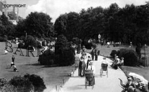 Boscombe, The Gardens c1905