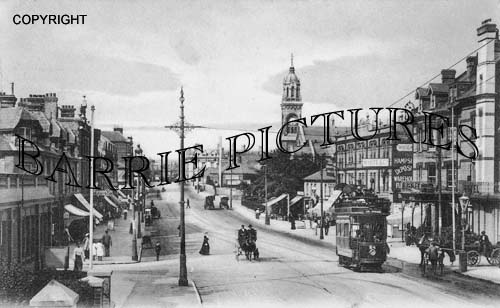 Bournemouth, Holdenhurst Road 1910