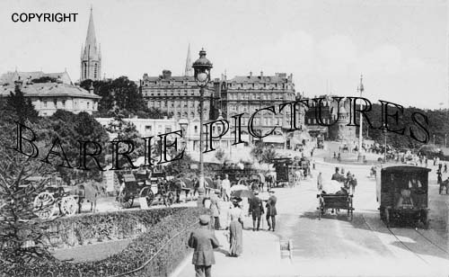 Bournemouth, Commercial Road and The Square 1905