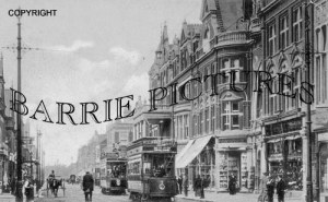 Bournemouth, Christchurch Road and Royel Arcade 1905