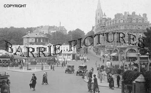Bournemouth, The Square and Richmond Hill 1907