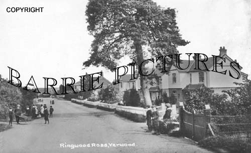 Verwood, Ringwood Road c1890