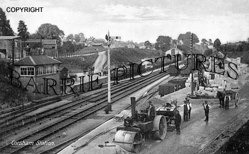 Corsham, The Station c1910