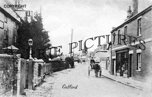 Codford, Village c1890