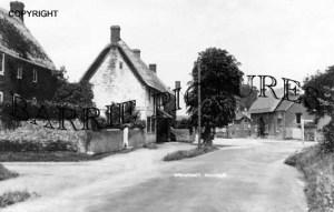 Urchfont, Village c1890