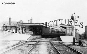 Bridport, Station c1930