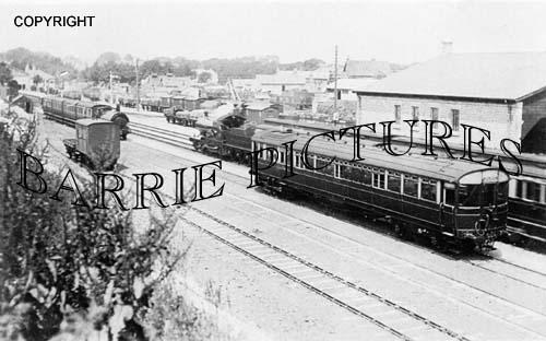 Dorchester, Station c1910