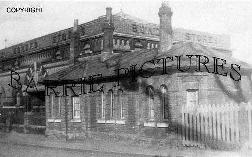 Dorchester, Station c1900
