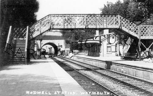Rodwell, Railway Station c1900