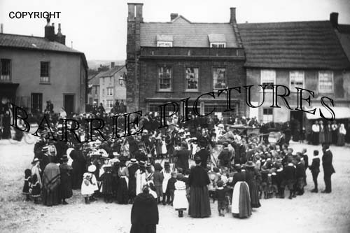 Beaminster, Market Place c1910