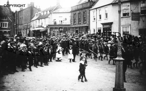 Beaminster, Boy Scouts c1905