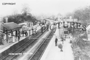 Yetminster, Staion c1900