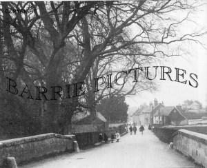 Amesbury, Queensberry Bridge c1905