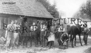 Chitterne, Blacksmiths c1915