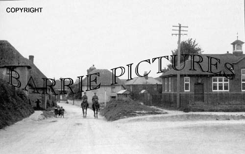 Durrington, Bulford Road c1915