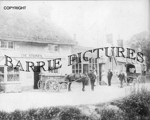 Tidworth, General Stores c1905