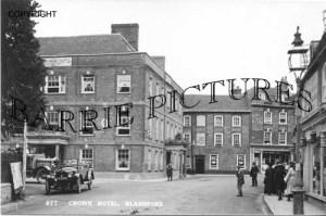 Blandford, Crown Hotel c1920