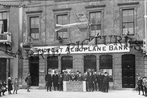 Bridport, Aeroplane Bank c1919