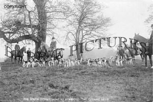 Stinsford, South Dorset Hunt the Opening Meet c1920