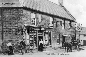 Broadwinsor, Post Office c1890
